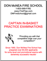 In-Basket Exam Prep - Captain - Mailed