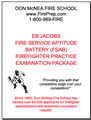 EB Jacobs Fire Service Aptitude Battery (FSAB) - Mailed