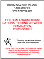 Fire Team Ergometrics/National Testing Network - Mailed