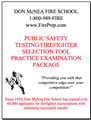 Public Safety Testing/Firefighter Selection Tool - Mailed