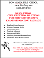 IO/CWH Selection Solutions for Firefighters (SSFF) - Mailed