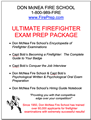 Ultimate Firefighter Examination Package - Mailed